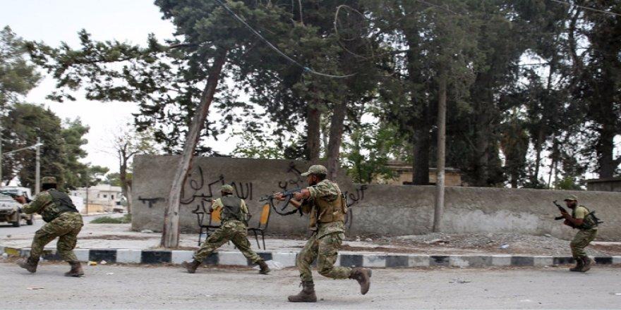 Cerablus'ta ÖSO 8 köyü daha kurtardı
