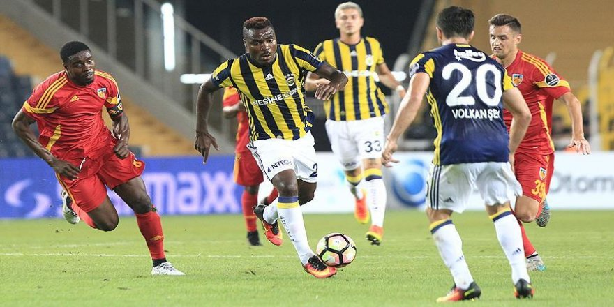 Fenerbahçe, Kayserispor ile berabere kaldı
