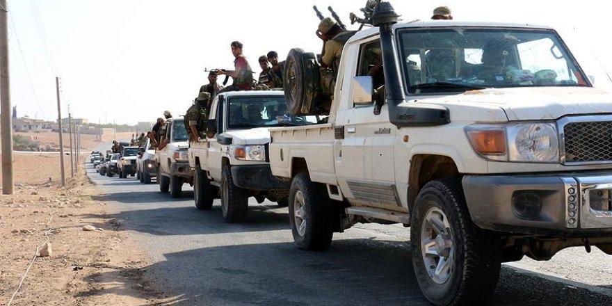 Cerablus ve Rai'de 13 köy teröristlerden temizlendi