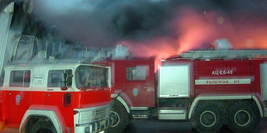 Moskova'da depoda çıkan yangında 16 Kırgız hayatını kaybetti