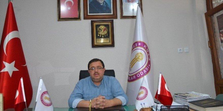 Esnaf Odası Başkanı Şadan'dan borç yapılandırılmasıyla ilgili açıklama