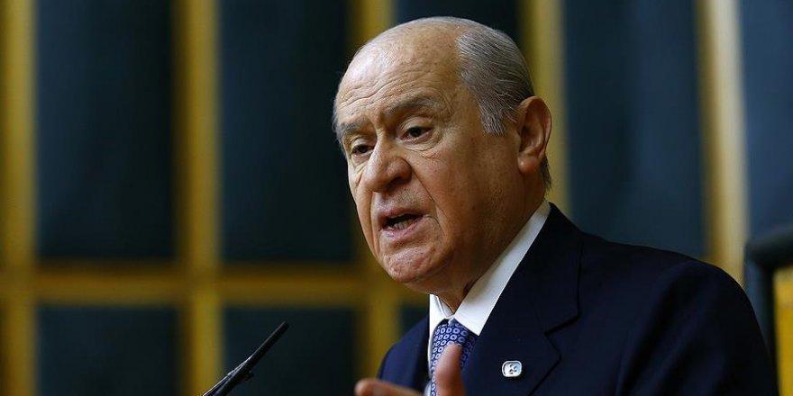 Devlet Bahçeli FETÖ aracısını azarladı, kaset terörü başlatıldı