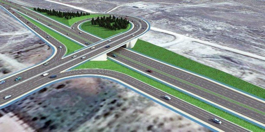 Aksaray Yolu Organize Sanayi Köprülü Kavşağının temeli atılıyor