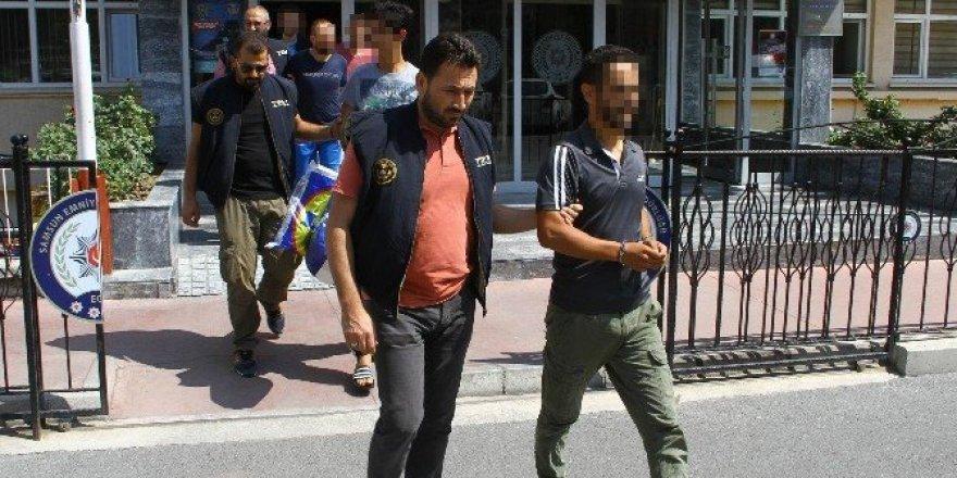 Samsun'da DAEŞ zanlısı 9 kişi adliyede