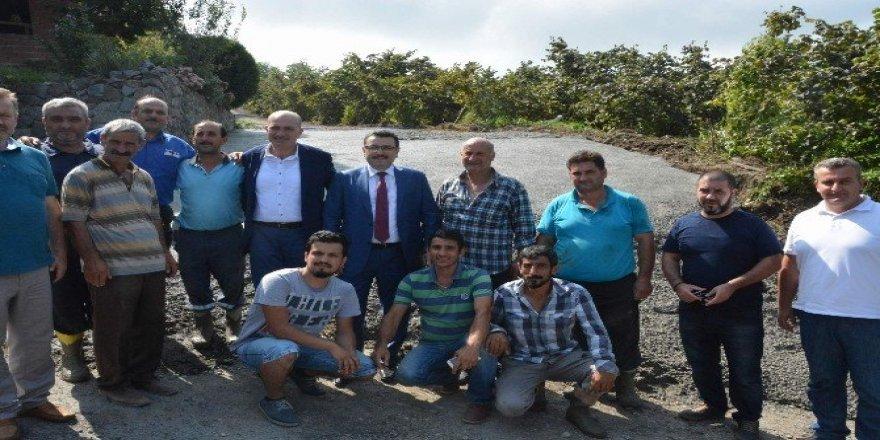 Ortahisar Belediyesi'nin yol çalışmaları aralıksız sürüyor