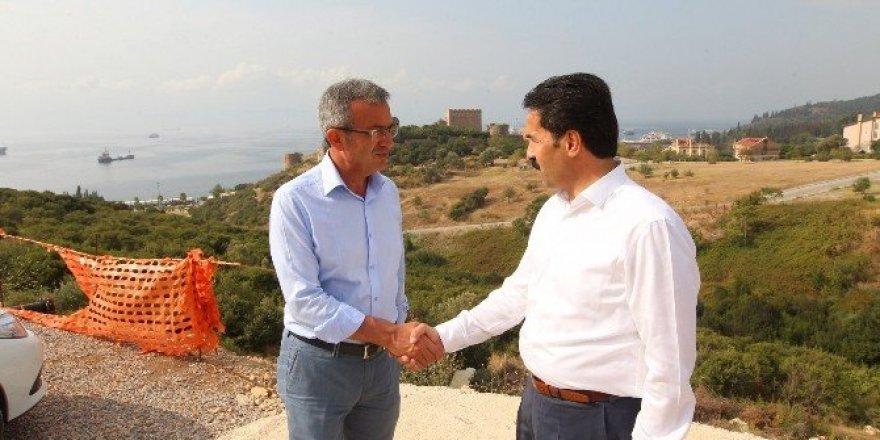 AK Parti Kocaeli Milletvekili Cemil Yaman, Gebze Macera parkında incelemelerde bulundu