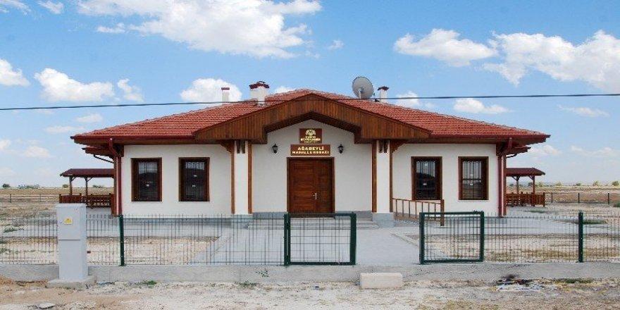 Konya'nın 12 ilçesinde 26 mahalle konağı yapımı devam ediyor