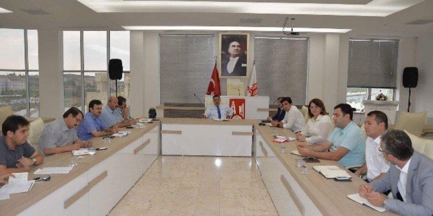 Başkan Yağcı haftalık istişare toplantısını gerçekleştirdi