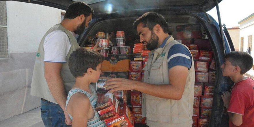 İHH 100 aileye yardımda bulundu