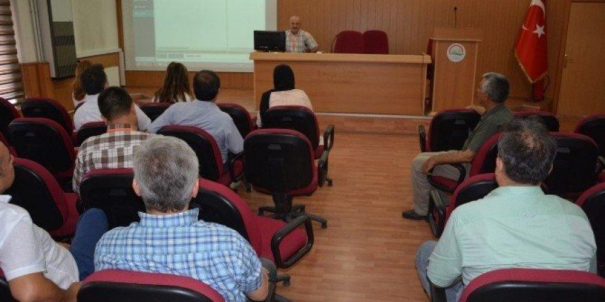 Tarımsal Maliyet Sistemi bilgilendirme toplantısı yapıldı