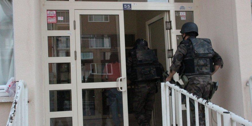 Konya'da DAEŞ operasyonu: 14 gözaltı