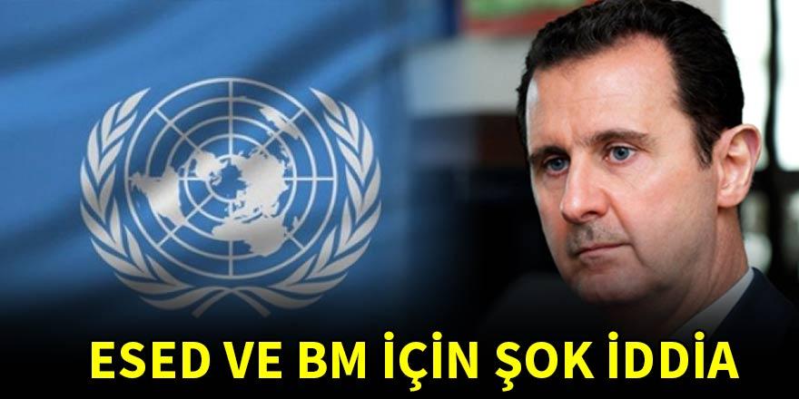 Şok iddia! BM harcamaları Esed rejimine gitti