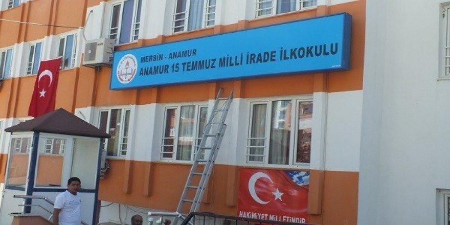 Anamur'da kapatılan Tekalan Koleji, ''15 Temmuz Milli İrade İlkokulu''  oldu