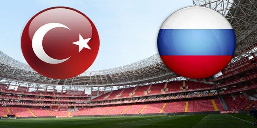 Türkiye'nin rakibi Rusya