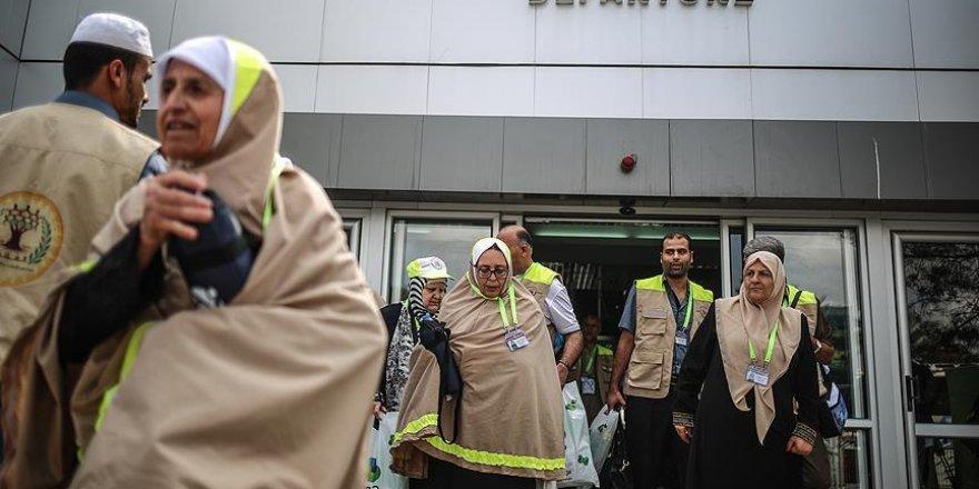 Gazze'den ilk hacı kafilesi yola çıktı