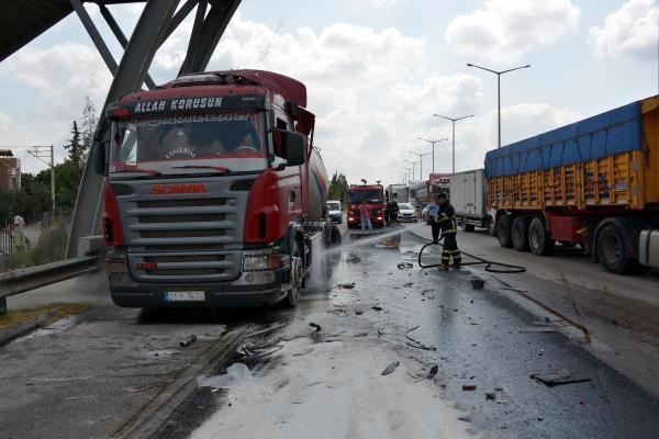 Gaziantep'te amonyum nitrat yüklü TIR alarmı