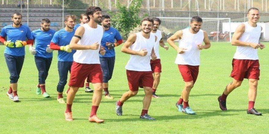 1461 Trabzon Gümüşhanespor maçı hazırlıklarını sürdürüyor