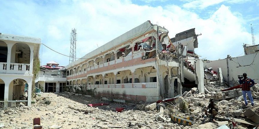 Somali'de Cumhurbaşkanlığı Sarayı yakınında patlama