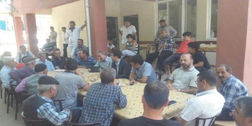 Kaymakam Kazez köy ziyaretlerini sürdürüyor