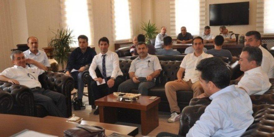 DSİ heyeti Hasankeyf'i ziyaret etti