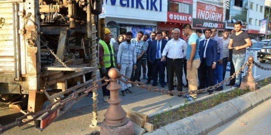 Erzincan da Tramvay projesinin startı verildi