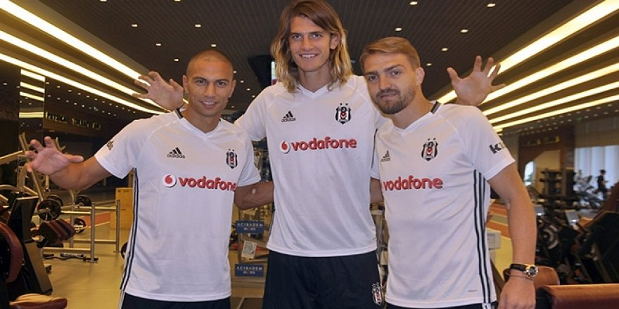 Beşiktaş'ın yeni transferleri sağlık kontrolünden geçti