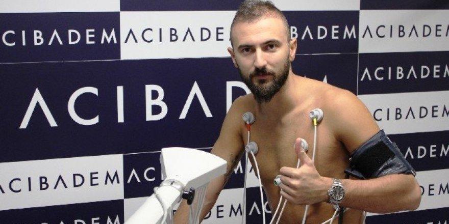 Kayserispor'un yeni transferi Acıbadem Kayseri Hastanesi'nde sağlık kontrolünden geçti