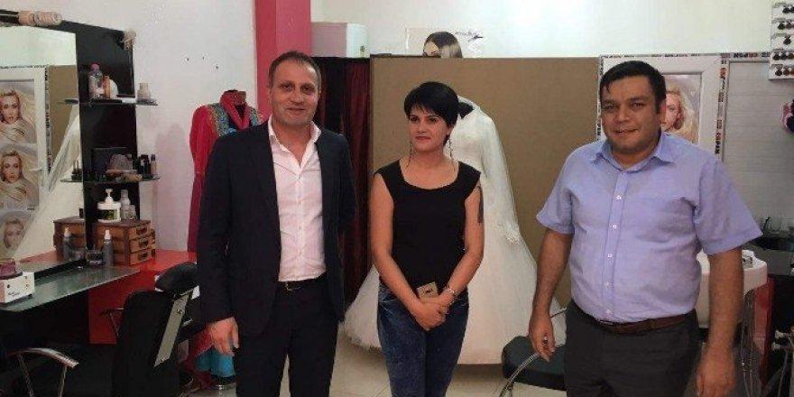 Pervari'de devlet desteğiyle ilk bayan kuaförü açıldı