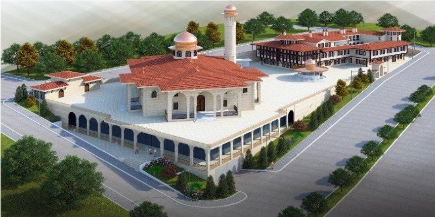 Camii ve Külliye inşaatı hızla yükseliyor