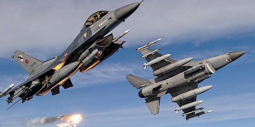 PKK hedefleri havadan vuruldu