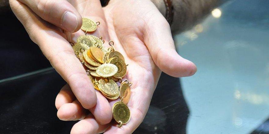 Altının kilogramı 124 bin 800 liraya geriledi