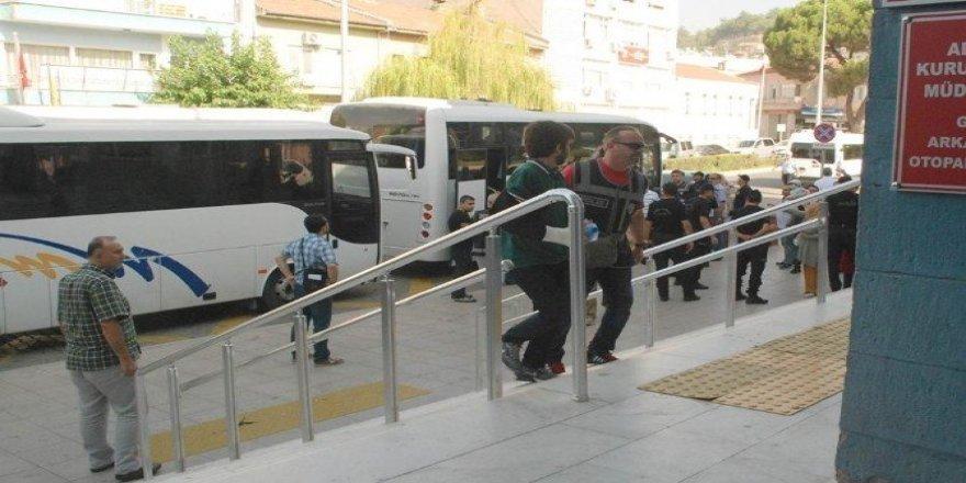 Aydın'daki FETÖ operasyonunda 408 kişi tutuklandı