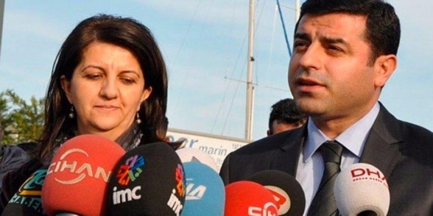 HDP'li Demirtaş ve Buldan ifadeye çağrıldı