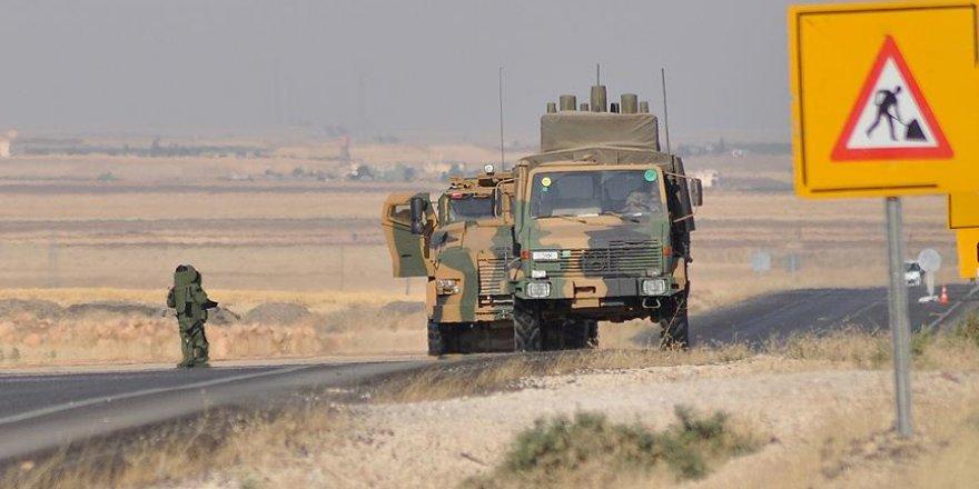 Teröristlerin 2 ton patlayıcıyla kurdukları tuzak imha edildi