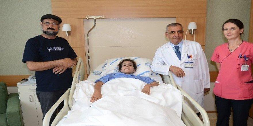 Iraklı yatalak hastayı, Türk doktorlar tedavi etti