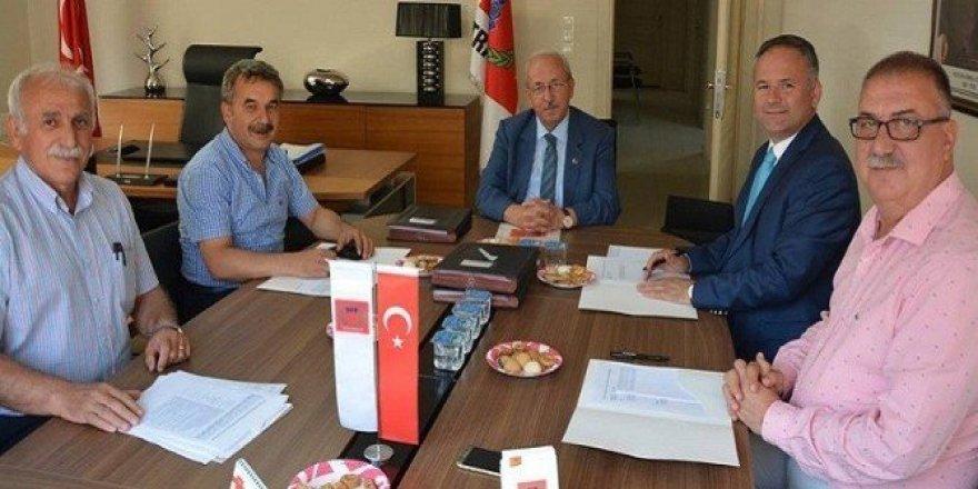 Türk-Bulgar İşadamları Toplantısı'nın detayları görüşüldü