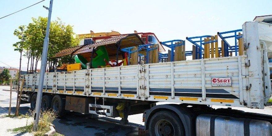 Başkan Çakır adına Muş'ta park yapılıyor