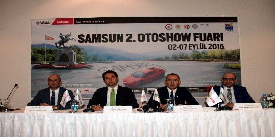 2016'nın ilk otomotiv fuarı Samsun'da