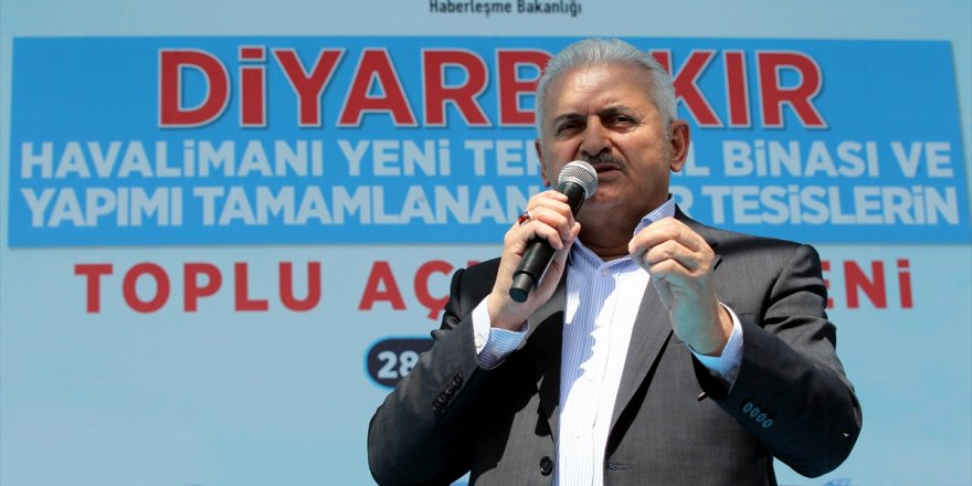 Başbakan Yıldırım Diyarbakır'a gidecek