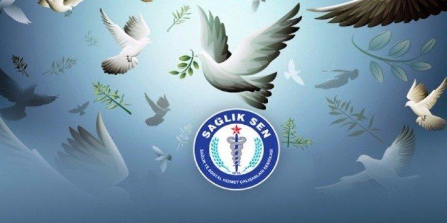 """Aydın Sağlık-Sen; """"Barış Günü, barış getirsin"""""""
