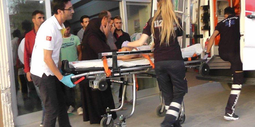 Üç yaşındaki kız çocuğu, üçüncü kattan düşerek yaralandı