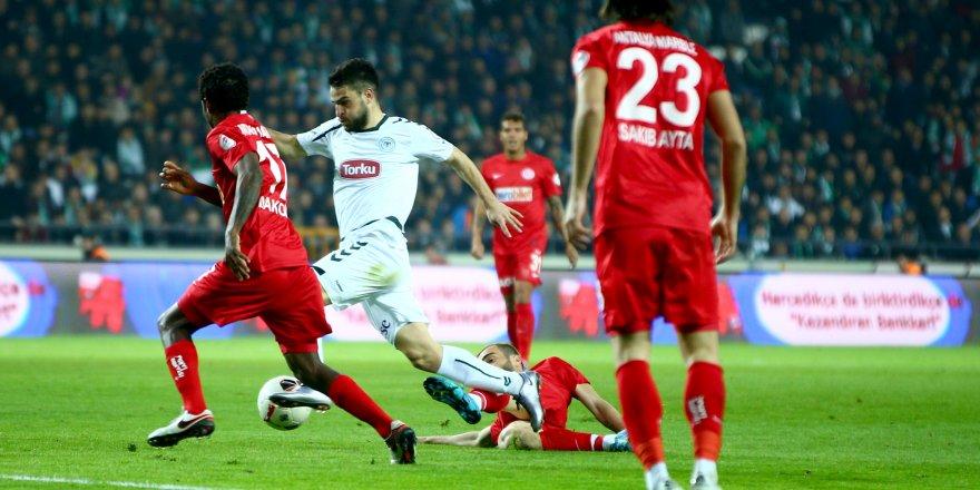 Antalyaspor-Atiker Konyaspor maçını seyircisiz oynayacak