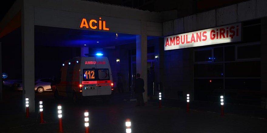 Bitlis'te askeri zırhlı araca terör saldırısı: 2 yaralı