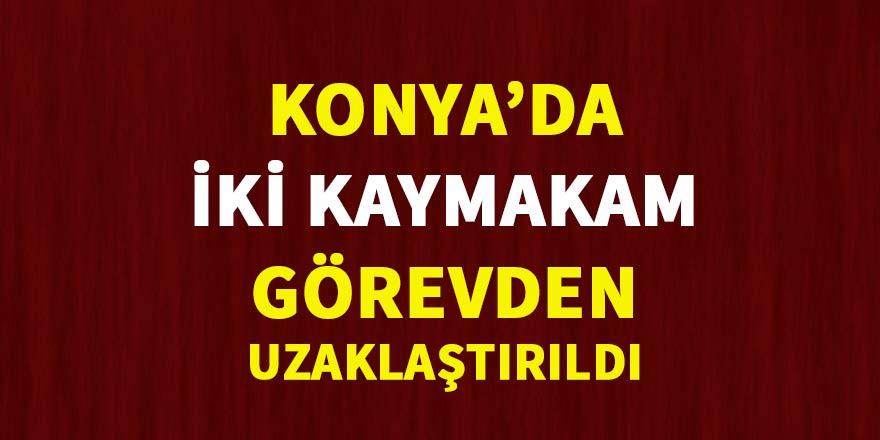 Altınekin ve Beyşehir Kaymakamları ihraç edildi
