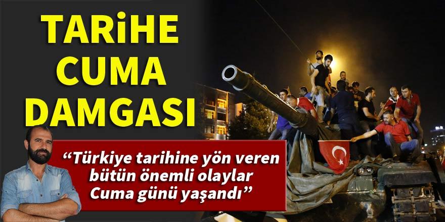 Mehmet Akif Sarıbaş: Anadolu'nun tarihi hep cumaları yazıldı