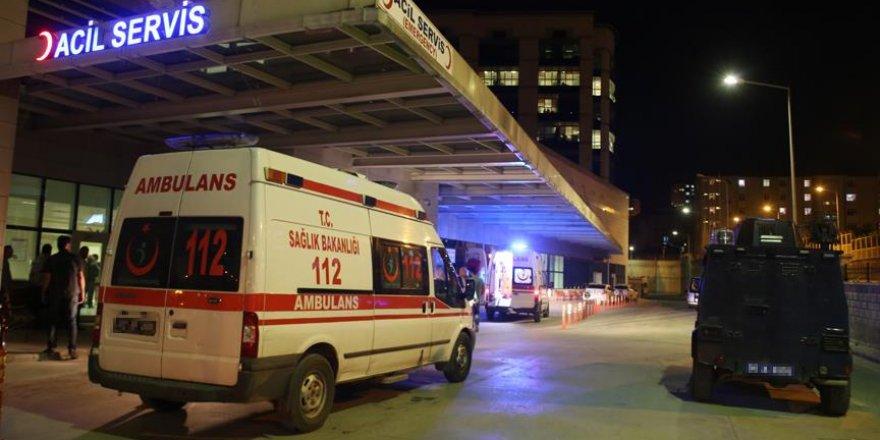 Şanlıurfa'da bir polis şehit oldu