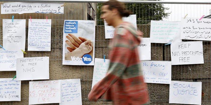 İskoçya'da bağımsızlık referandumu için nabız yoklanacak