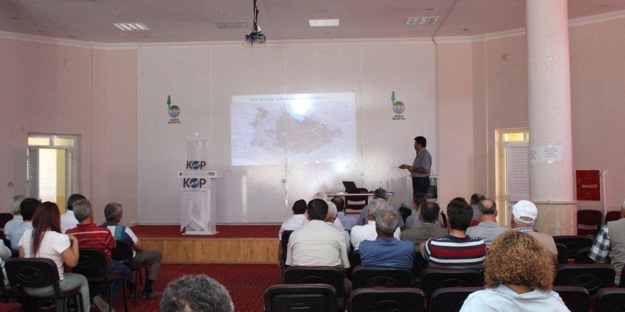 Bozkır'da KOP İstişare toplantısı yapıldı