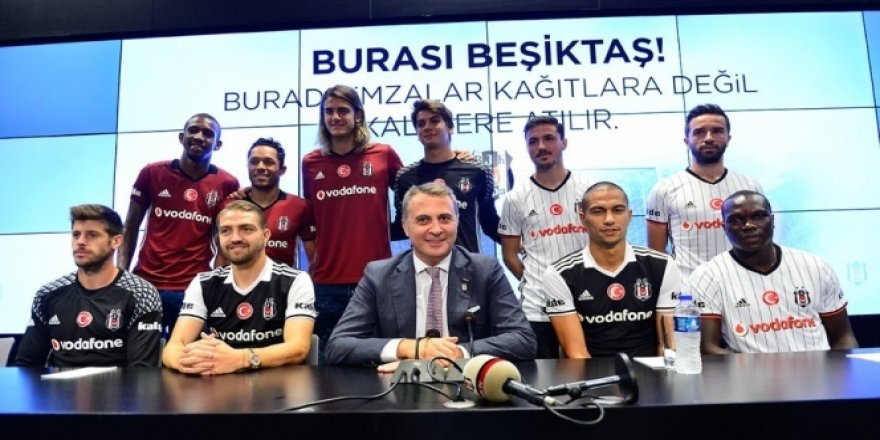 Yeni transferler basına tanıtıldı