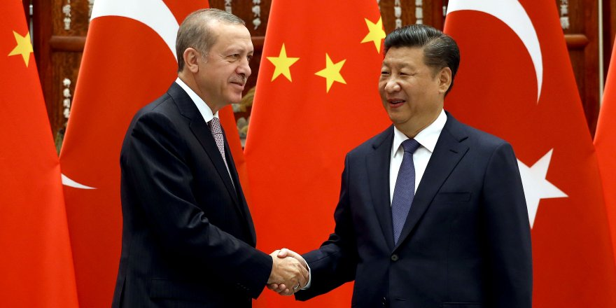 Erdoğan, Çin Cumhurbaşkanı Şi Cinping ile bir araya geldi